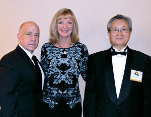 Bug Off's Andy Linares, Dr. Dini Miller and PMP Hall of Famer (Class of 2009) Dr. Motokazu Hirao.