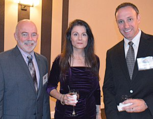 Rockwell Labs' David Murphy, Dr. Cisse Spragins and James Osuch.